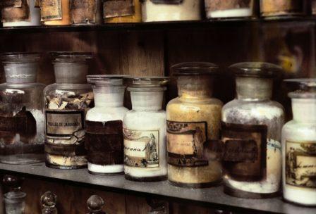 Farmacia antica,